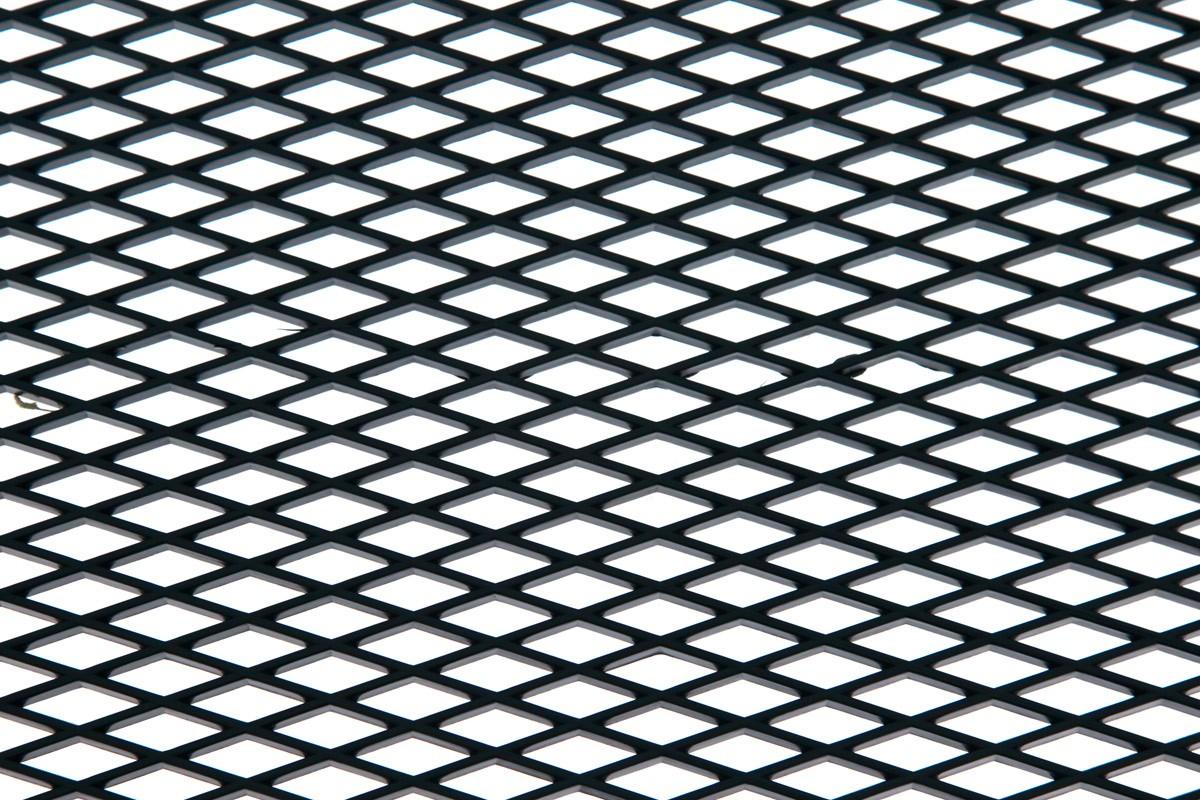 SIATKA ABS DIAMOND BLACK 120 * 40cm - GRUBYGARAGE - Sklep Tuningowy